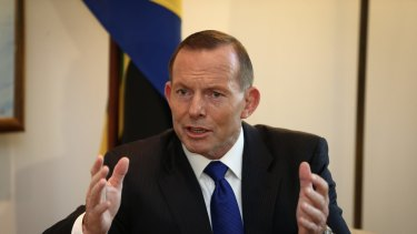 Tony Abbott has moved onto an aggressive footing in recent days in defence of the China-Australia FTA.