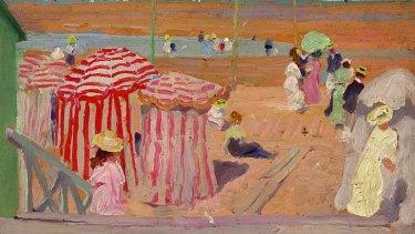 E Phillips Fox, Promenade (1909)