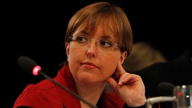 No retreat ... the Tasmanian Premier, Lara Giddings.
