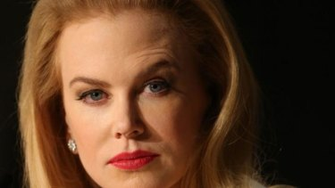 Nicole Kidman at the press conference for her film Grace of Monaco at the Cannes Film Festival.