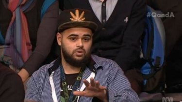 "Zaky Mallah: ""The Liberals have just justified to many Australian Muslims in the community tonight to leave and go to Syria and join ISIL because of ministers like him."""