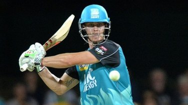 Chris Lynn was crowned the player of BBL05 after a dominant campaign with the bat.