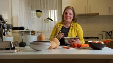 Juggling act: Danielle Price carries the load on the domestic front.