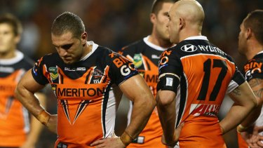 It's been an unhappy year for the Wests Tigers.