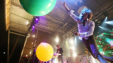The Flaming Lips at the 2012/13 Falls Music and Arts Festival in Lorne.