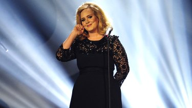 Adele's album <i>21</i> has spent 29th non-consecutive weeks at number one.