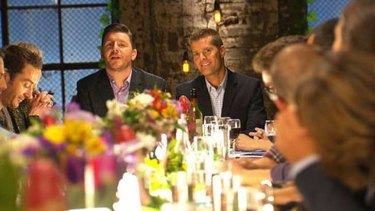 Head of the table ... <i>MKR</i> People's Choice round