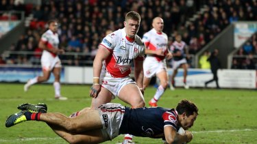 World Club Series 2016: Sydney Roosters thrash St Helens in ...