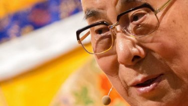 "The Dalai Lama has hit out at the Russian president, calling Vladimir Putin ""self-centred""."