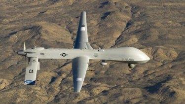 A Predator unmanned drone.