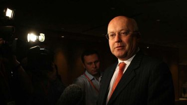 """The bill is a flawed bill"" ... shadow attorney-general, Senator George Brandis."