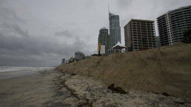 Erosion on the Gold Coast last year.