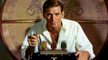 Rod Taylor in the 1960 film <i>The Time Machine</i>.
