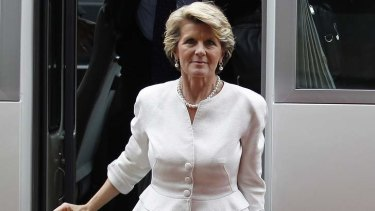 "Tension over spying ... Foreign Minister Julie Bishop will not give a ""running commentary"" on the diplomatic row between Australia and Indonesia."