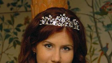 """This image taken from the Russian social networking website """"Odnoklassniki"""", or Classmates, shows a woman identified as Anna Chapman."""