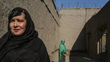 Under Afghan prison policy, Shirin Gul she can keep her daughter with her until she turns 18.