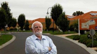 Howard Campey, a long-time campaigner for improved arrangements for retirement villages.