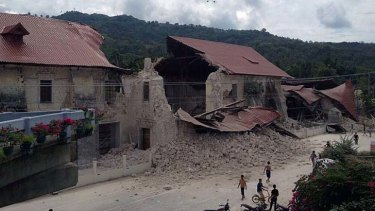 The earthquake hit near one of the Philippines key tourist hubs.
