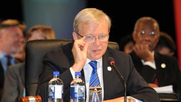 When Kevin Rudd was deposed the party's primary vote stood at 35 per cent. Now it's 29 per cent.