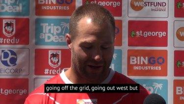 @NRL_Dragons Trent Merrin has spoken about his joy in returning to his boyhood club #NRL