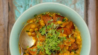 Healthy and delicious ... vegetable curry.
