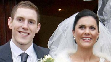 John and Michaela McAreavey on their wedding day.