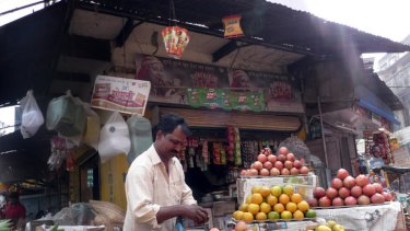Shopkeepers are a political force in India.