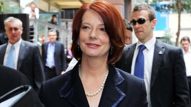 Julia Gillard is at risk of being hounded out of office.