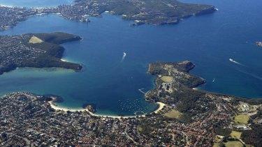 Location, location, location: Sydney Harbour's iconic headlands.