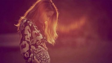 The image Blake Lively used to announce her pregnancy.