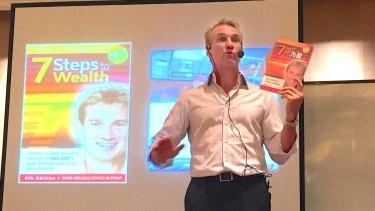 John Fitzgerald talks at a seminar in Kunming, China in May this year.