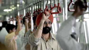 In Delhi, a city of chaos, the metro service is a moving oasis of punctuality and order.