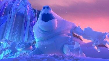 Transvestite? ... Abominable snowman Marshmallow.