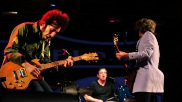 Opened for the Rolling Stones: You Am I, pictured here performing in 2013.