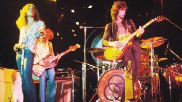 Led Zeppelin in their '70s heyday.