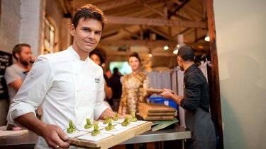 Chef and raw food pioneer Matthew Kenney.