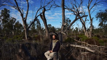 Gilad Bino,a research fellow at UNSW has been studying the Macquarie Marshes.