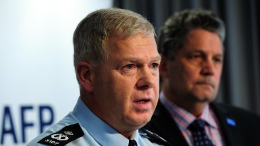 ACT Chief Police Officer Rudi Lammers.