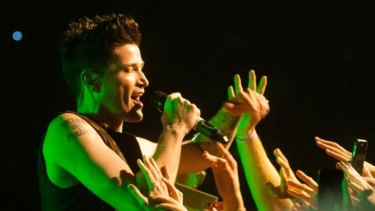 The Script showed appreciation for their fans during their Perth Arena show on Friday.