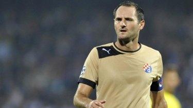 Lost to Socceroos. Josip Simunic of GNK Dinamo Zagreb.