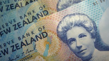 The kiwi reached 95.72 Australian cents over the weekend, its highest level since December 2005.