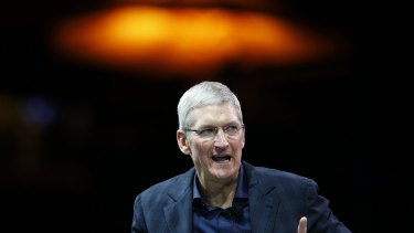 Out and proud: Apple chief executive Tim Cook has publicly announced he is gay.