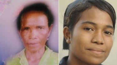 Gracinda da Costa...killed, Josefina ba Kita...left behind.