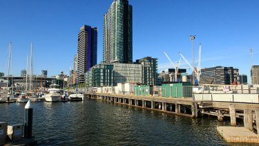 Victoria Harbour at Docklands.
