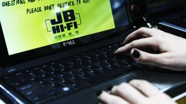 Well connected: JB Hi-Fi's giving scheme has donated $5.5 million since 2008.