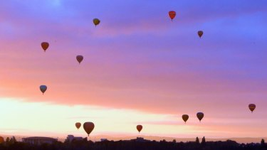 The Canberra Balloon Spectacular is worth the early starts.
