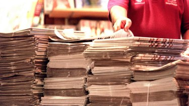 Newspaper publishers have reacted with alarm at the proposal.