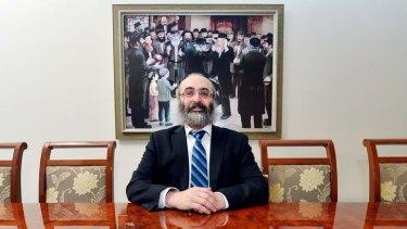 Rabbi Meir Kluwgant.