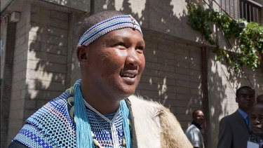 """""""[My wife] has been having an affair with one of my brothers"""" ... Mandla Mandela."""