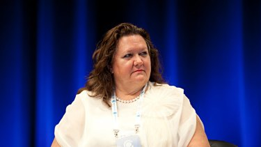 Communications Minister Stephen Conroy has expressed his concerns about mining magnate Gina Rinehart's refusal to sign Fairfax's charter of editorial independence.